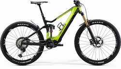 Merida eOne-Sixty 9000 FS Carbon Electric Mountain Bike - Yellow/Black 2020 Thumbnail