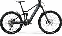 Merida eOne-Sixty 8000 FS Carbon Electric Mountain Bike - Grey/Black 2020 Thumbnail