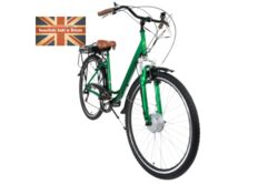 Cyclotricity Jade Step Through Dutch Style Electric Bike, 6 Speed, 700c - Green 1 Thumbnail