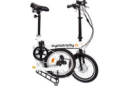 Cyclotricity Wallet Folding Electric Bike, 8Ah, 18