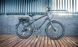 Wisper 905se Cross Bar Stealth Electric Bike 6 Thumbnail