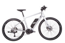 Raleigh Strada Elite Grey Alloy Frame Carbon Forks 11Ah Electric Bike Thumbnail