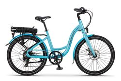 Ex Demo Wisper 705se 375Wh Stealth Electric Bike - Blue Thumbnail