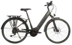 Raleigh Centros Step Through Derailleur Grey Electric Bike 700c Thumbnail