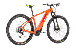 Cube Reaction Hybrid SL 500 Kiox HT Electric MTB 2019, Orange/Green - 11 Speed 3 Thumbnail