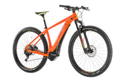 Cube Reaction Hybrid SL 500 Kiox HT Electric MTB 2019, Orange/Green - 11 Speed 4 Thumbnail