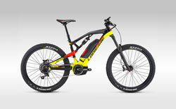 Lapierre Overvolt SX 600 Mens F/S Electric Mountain Bike - Black/Yellow/Red Thumbnail