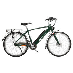 Emu Crossbar E-Bike - Racing Green