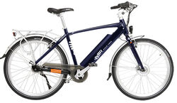 Emu Crossbar E-Bike - NEW Navy Blue