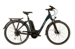 Raleigh 2020 Motus GT Low Step Derailleur Alloy Electric Hybrid Bike, Blue - 9 Speed, 700c Thumbnail