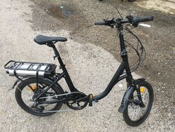 Pre-Production Unisex Folding Electric Bike - 9Ah