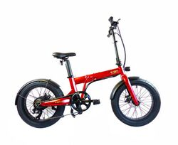 E-Go Max+ Fat Tyre Folding Electric Bike, 20