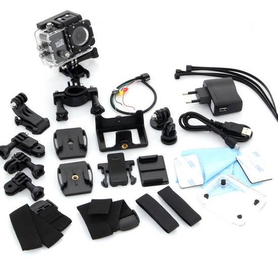 Ac Sj6000 Wifi Bike Action Camera Ebikes Direct