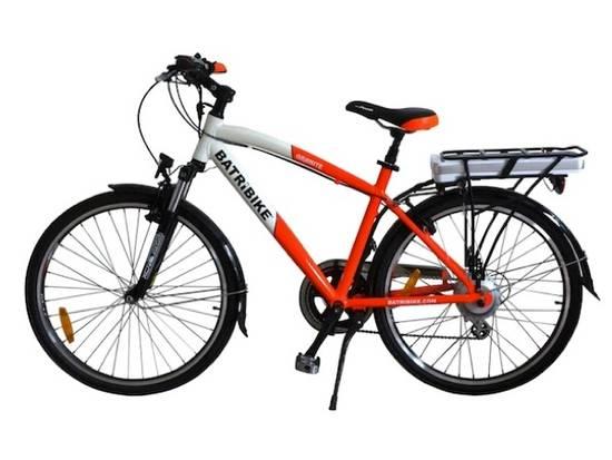 Batribike Granite Pro Electric Bike Orange White