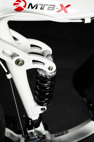 Oxygen Mtb X Full Suspension Electric Bike