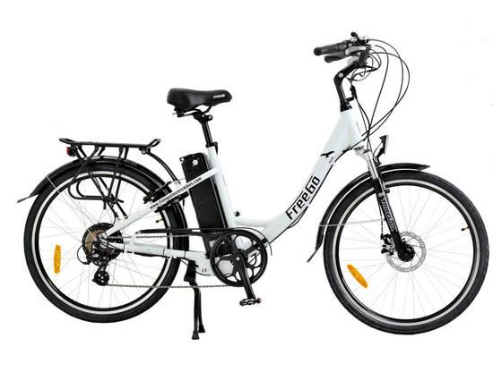 buy a freego hawk step through electric bike white from e