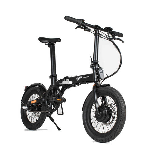 buy a emu mini electric folding bike black from e bikes. Black Bedroom Furniture Sets. Home Design Ideas