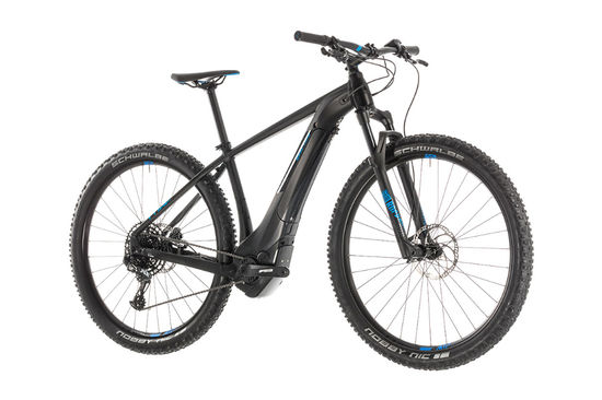 e897951ec53 Cube Reaction Hybrid Eagle 500 HT Electric MTB 2019, Grey/Green - 12 Speed