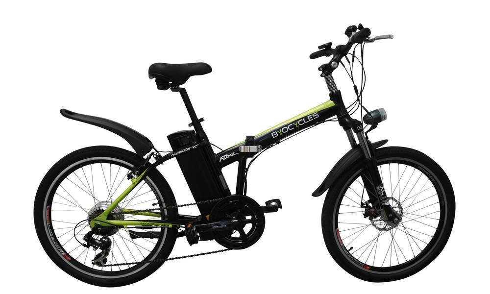 Byocycle FDXL Folding Electric Bike